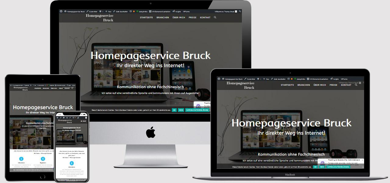 Webdesign Bruck