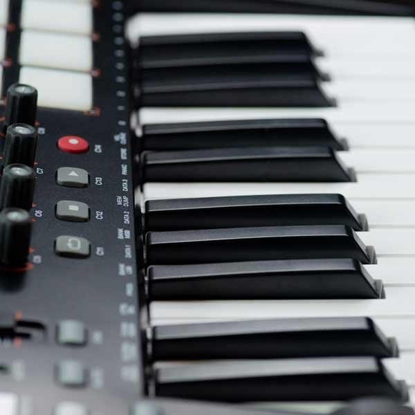 Synthesizer mit vielen Einstellmöglichkeiten